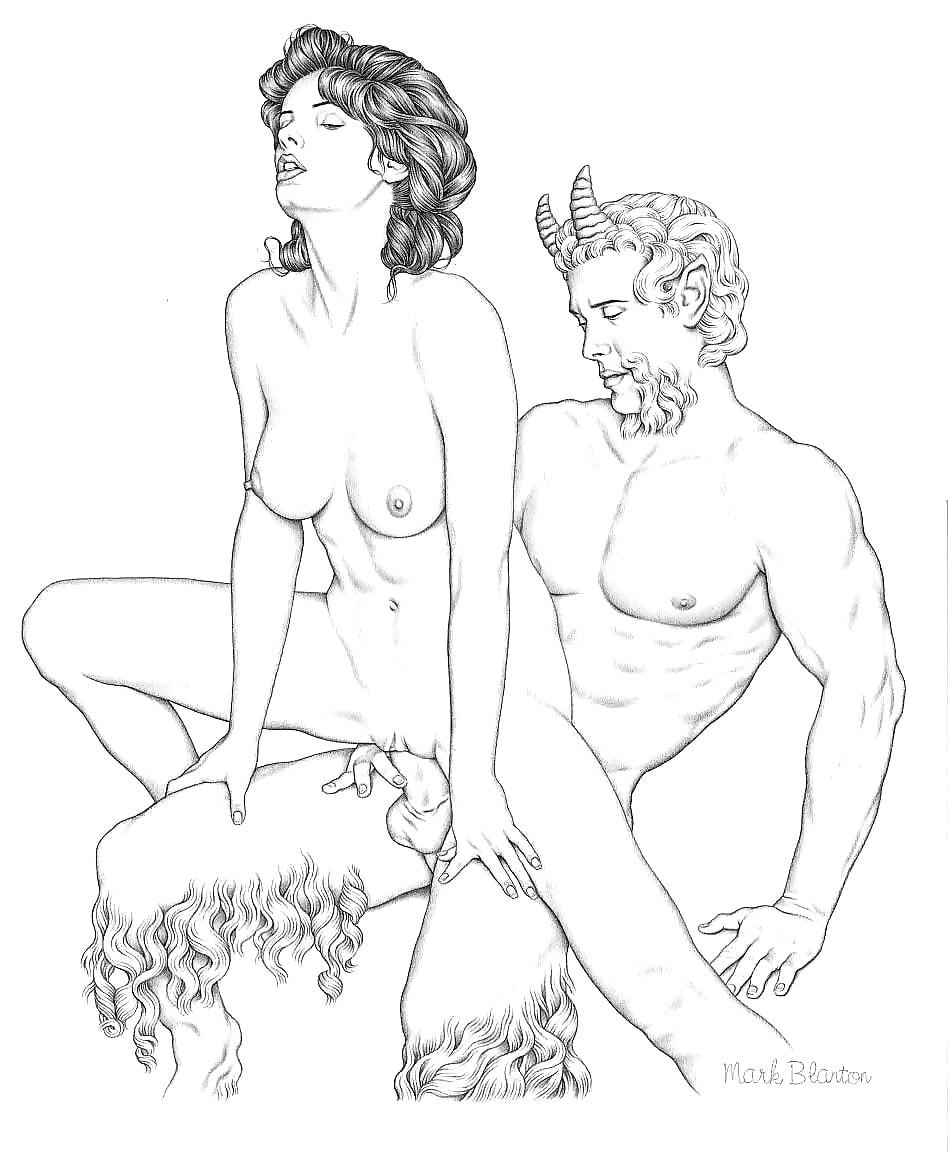 еще порно с древними богами можно