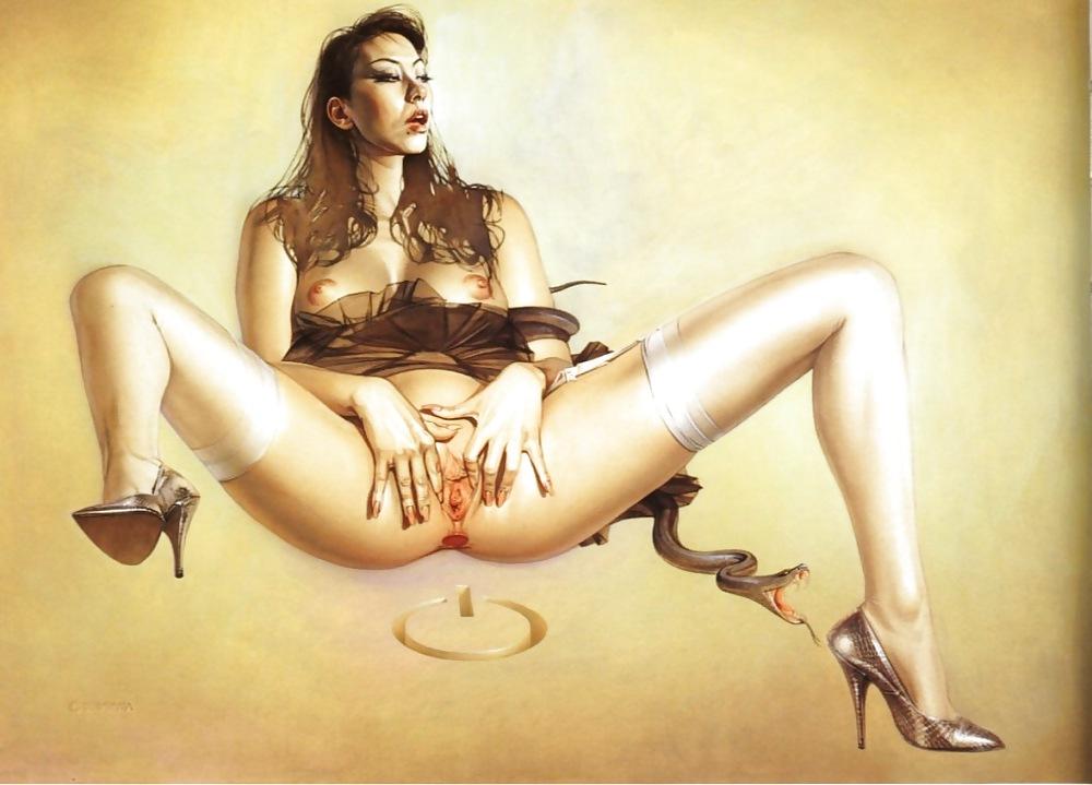 Девчонки порно картины, русский ххх накормили спермой