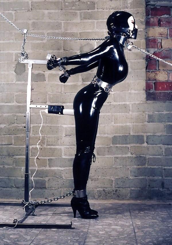 Rope bondage catsuit belle davis