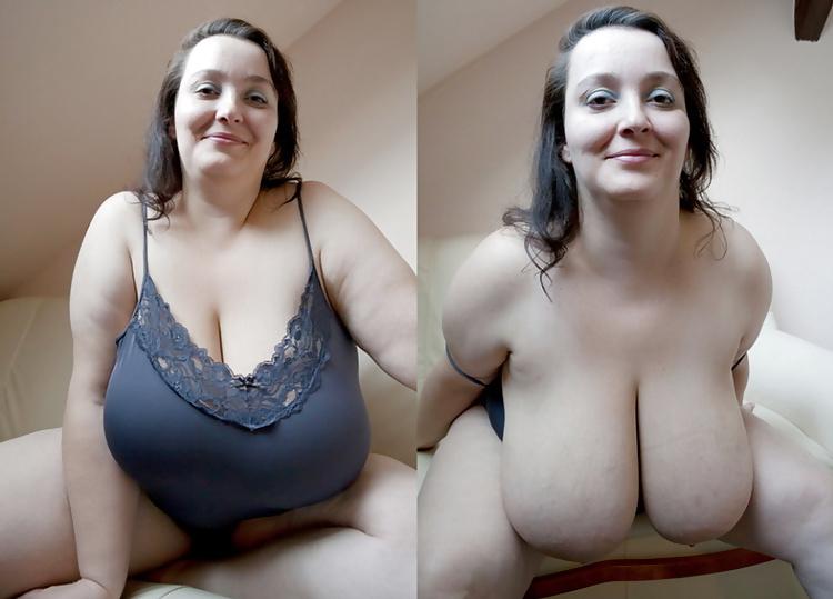Undress nice boobs