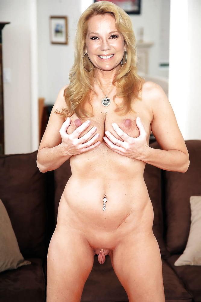 Kathy shows boobs