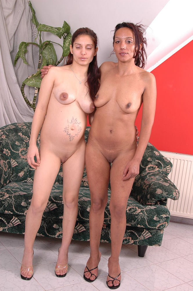 Mom and daughter naked and ready for the ultimate porn play
