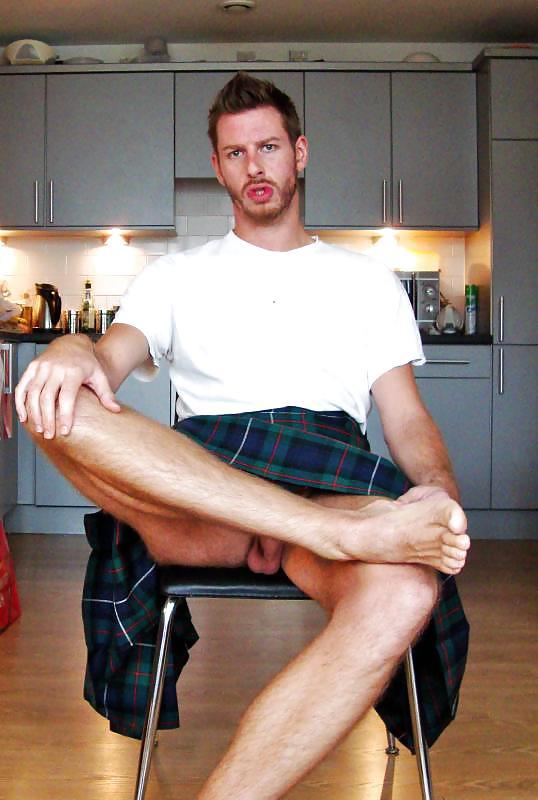 Nude scottish man with erect penis pics