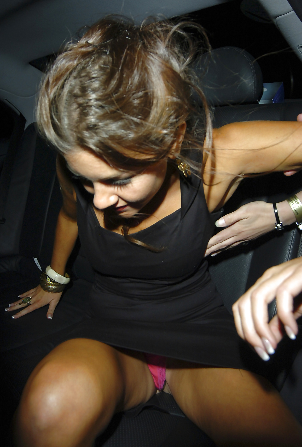 Star up skirt pussy, hot girl at birthday party