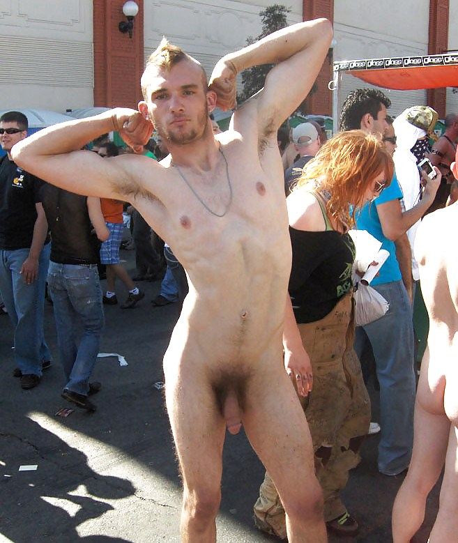 Hippies naked men