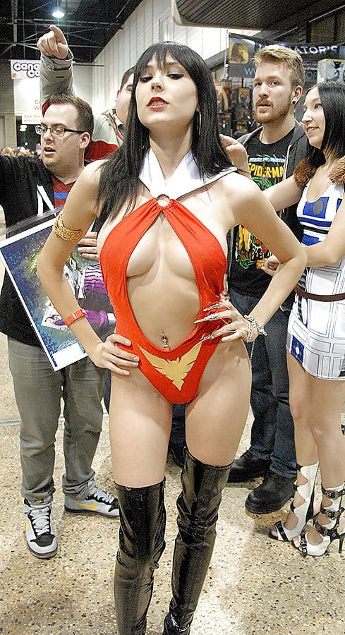 Plus size school girl uniform costume-3266