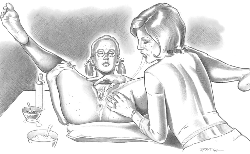 Rebecca porn comics — pic 7