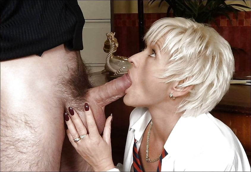 Mature Old Women Suck Teen Guy Dick