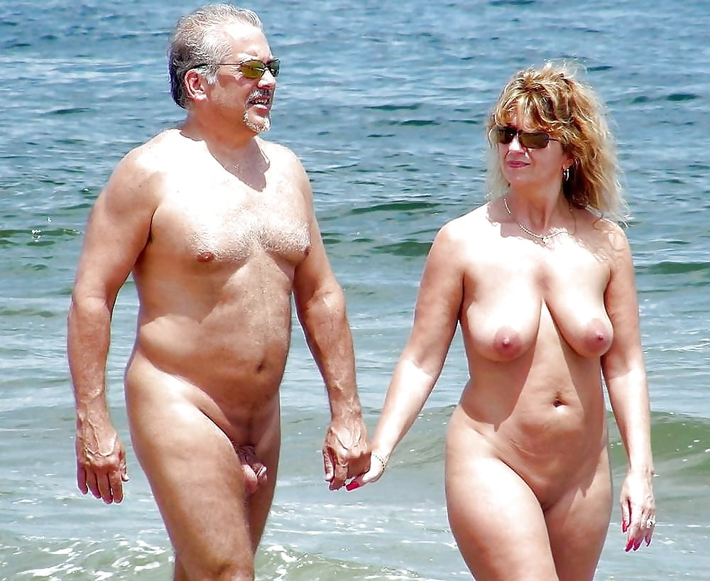 Horny mature nudist
