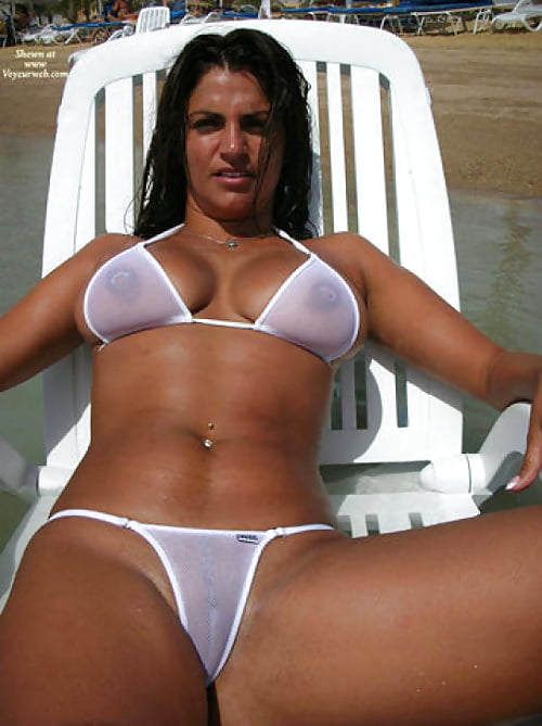Sheer bikini swimsuit galleries