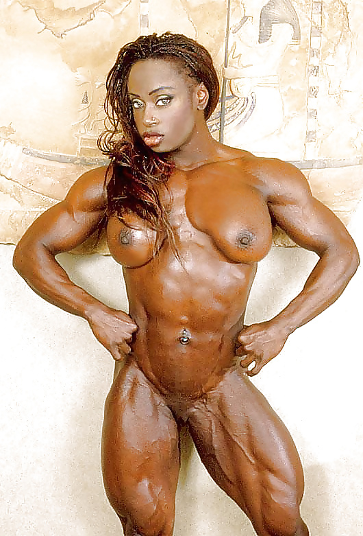 black-nude-body-builder