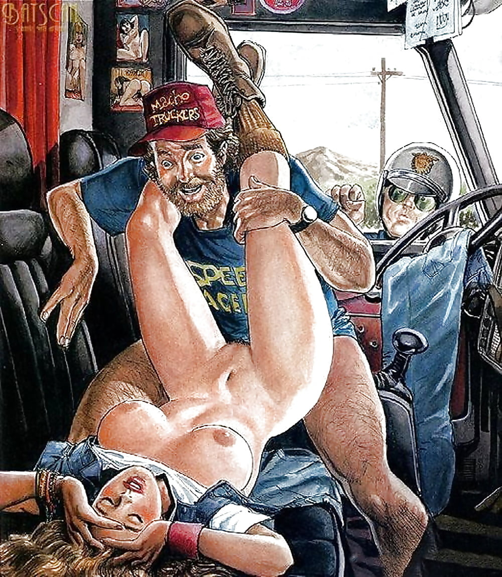 американское рисованное порно модели