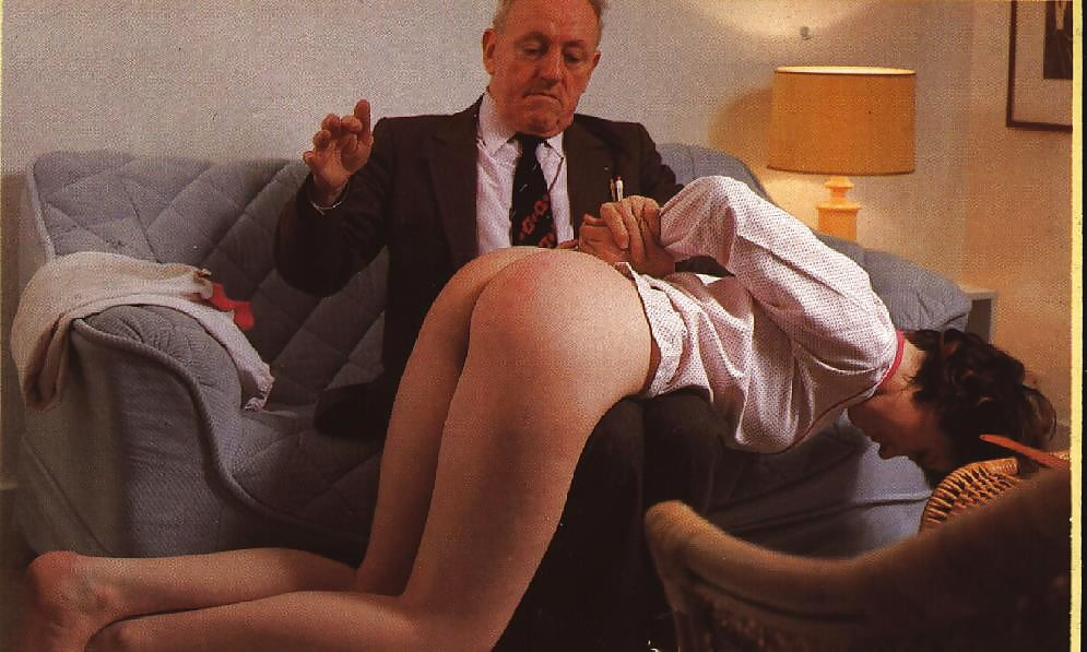 Vintage wife spanking