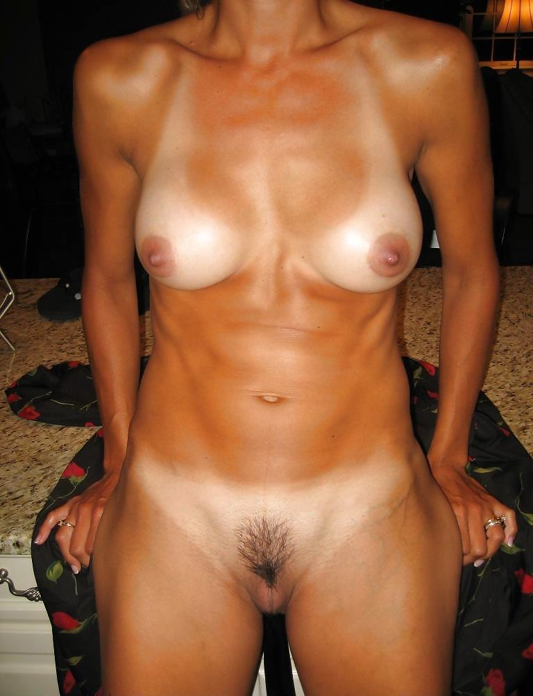 Amateur tan lines sex