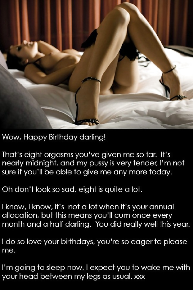 Cuckold Birthday Surprise