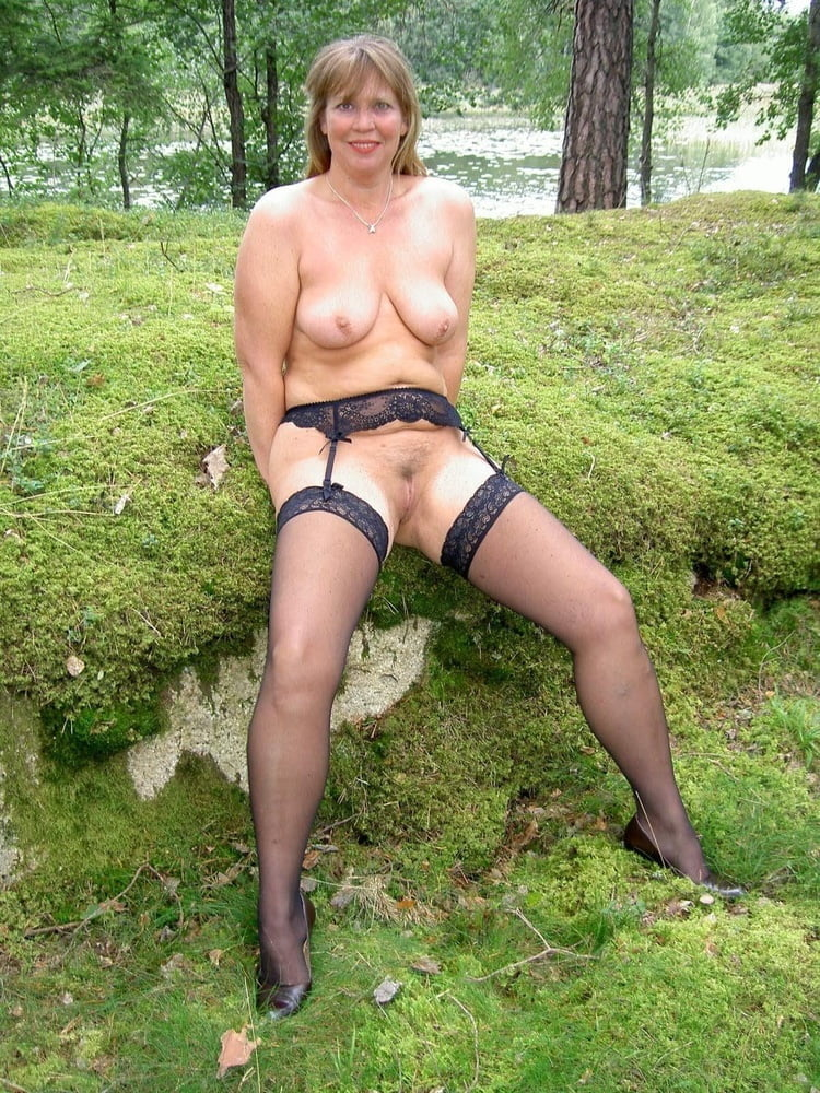 Barely pictures mature outdoors ex wife porn pic