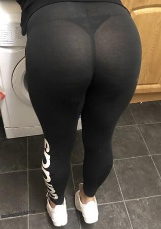 Wet See Through Panties