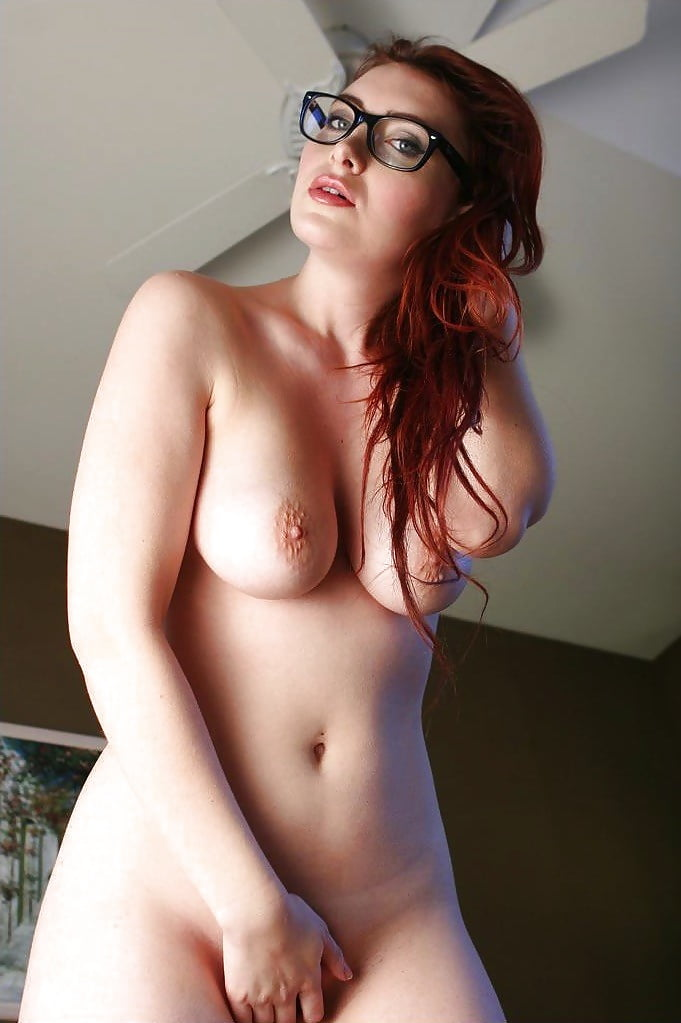 Redhead Nerd Nude