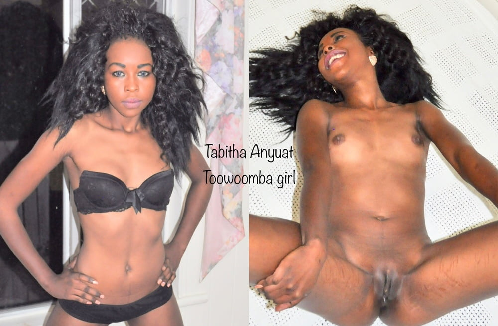Dressed undressed - Tabitha Anyuat- 8 Pics