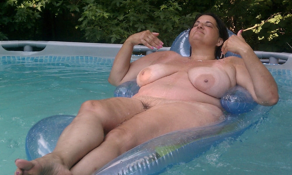 Mature Naked In Water