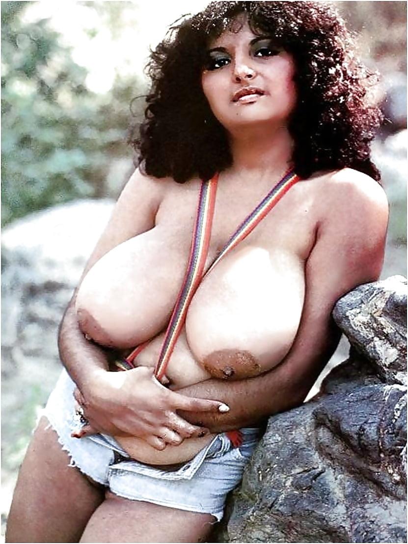 Muscular nude body builder