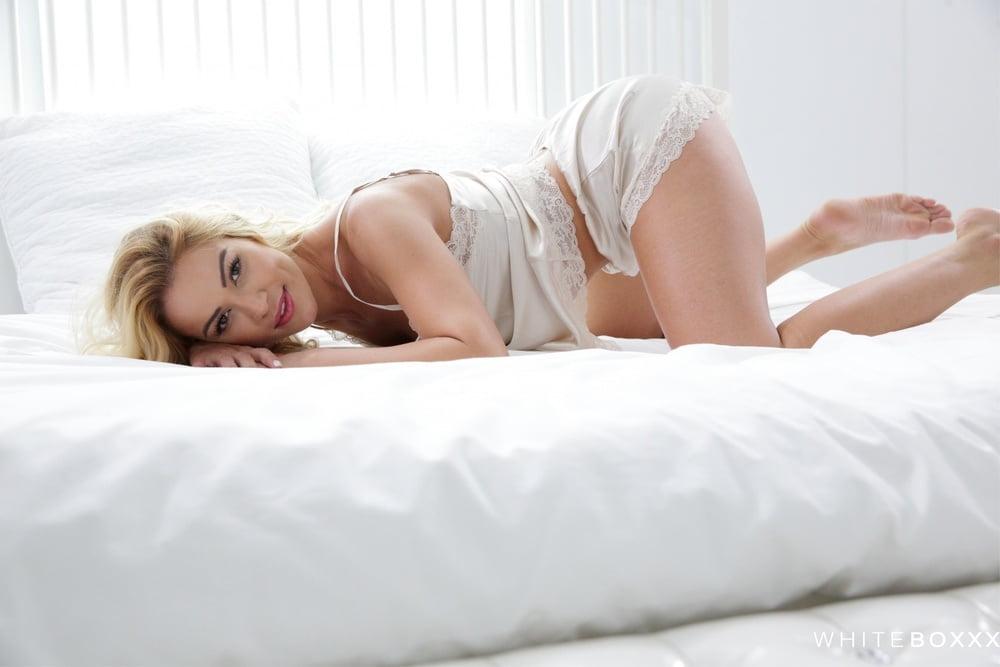 Blonde Cherry Kiss Erotic Passionate Sex