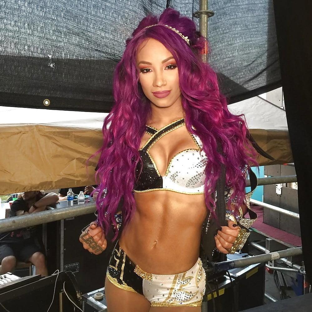 Sasha banks sex tape