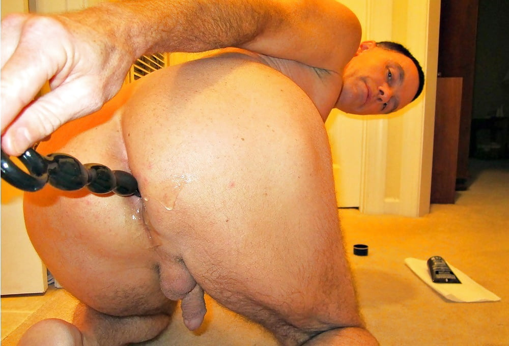 Real gay men trade anal play in the bedroom and enjoy it