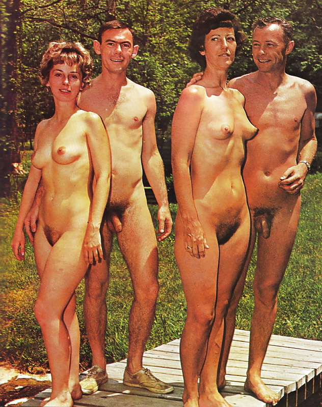 Vintage nudist mature couples, anal sex trailer