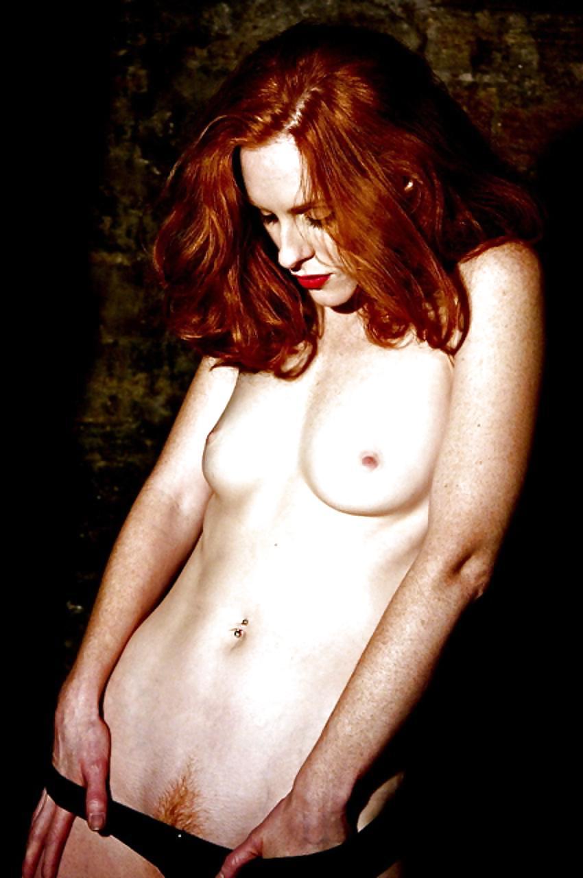 Nude hairy redhead women-6037