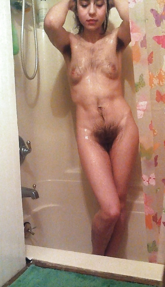 Mature shower female