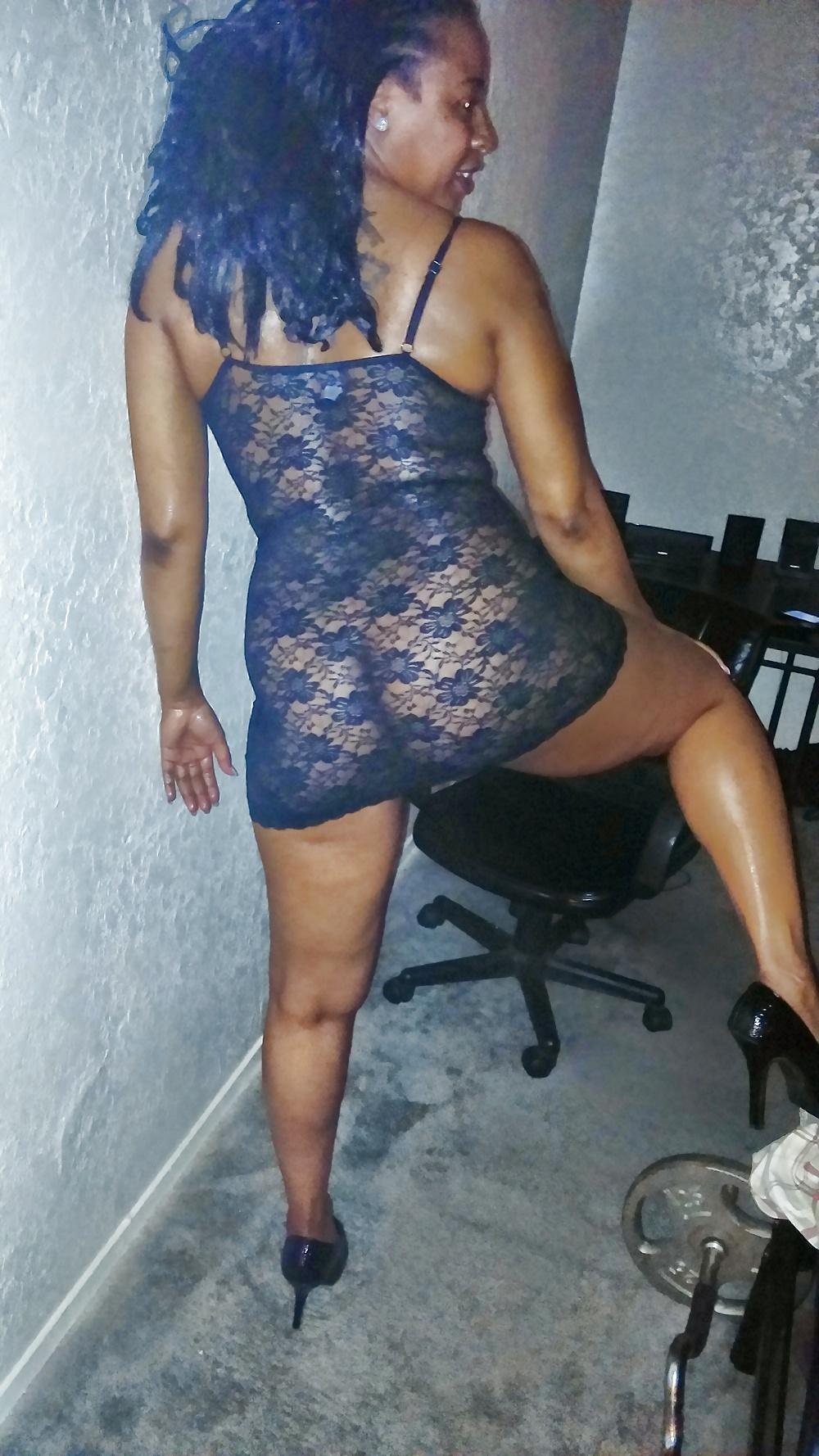 Ebony milf young