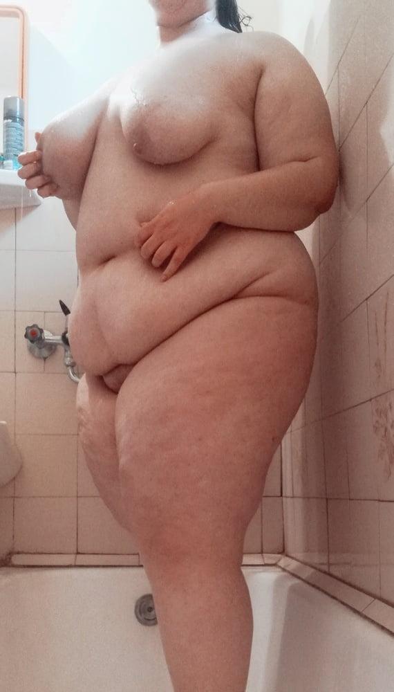 Naked bbw shower