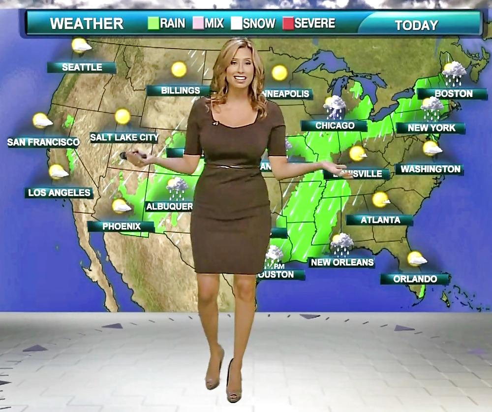 Weather channel's stephanie abrams