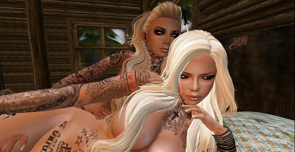Shemale machinima second life