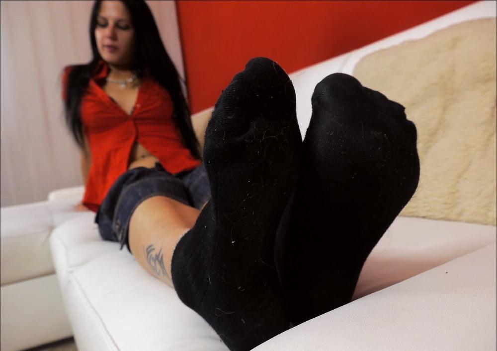 Silky Girls Sock Fetish