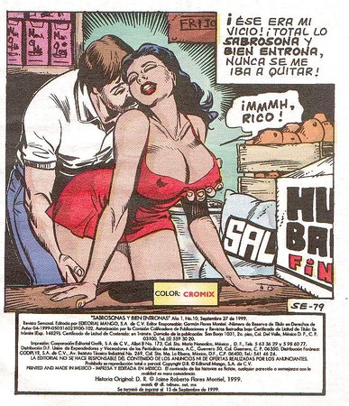 разведение порно комиксов