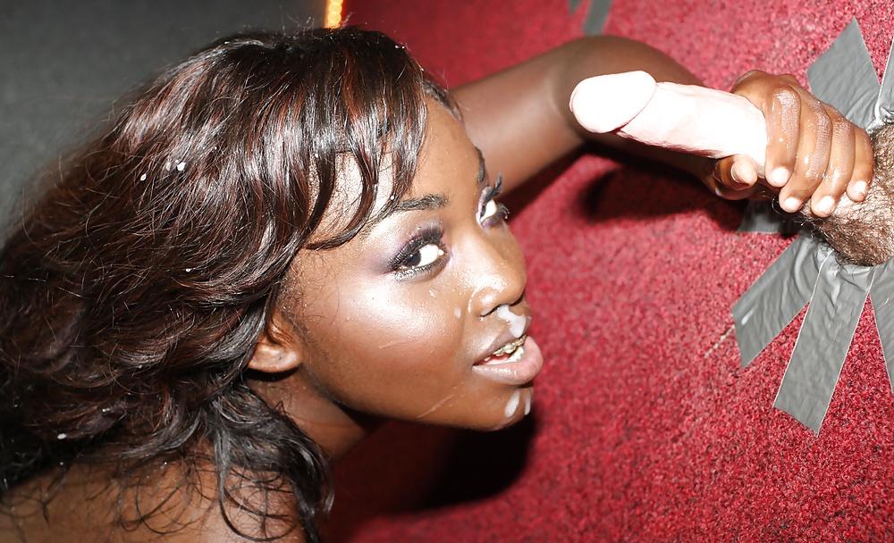 Black girls love glory holes 1