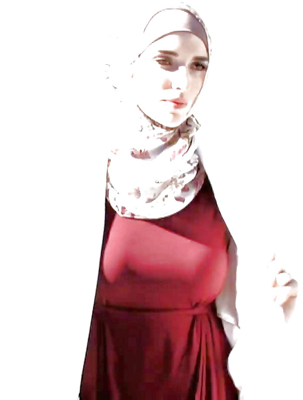 Hijab big pussy girl — img 8