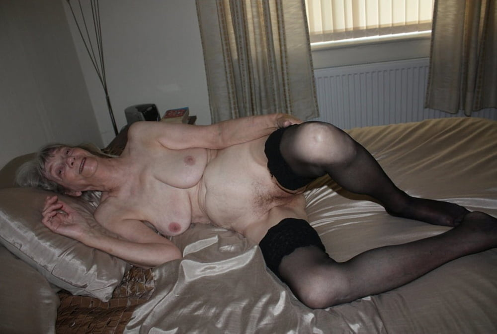 For lovers of mature pussy, old whores roam naked
