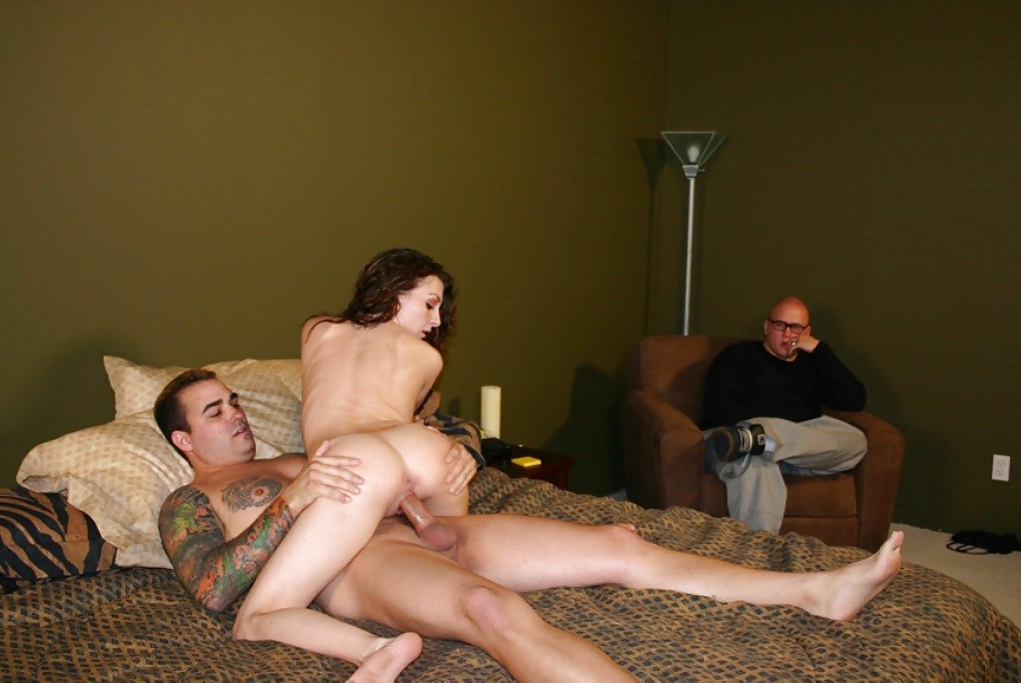Husband watch wife have sex pics
