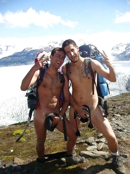 guys-hiking-naked