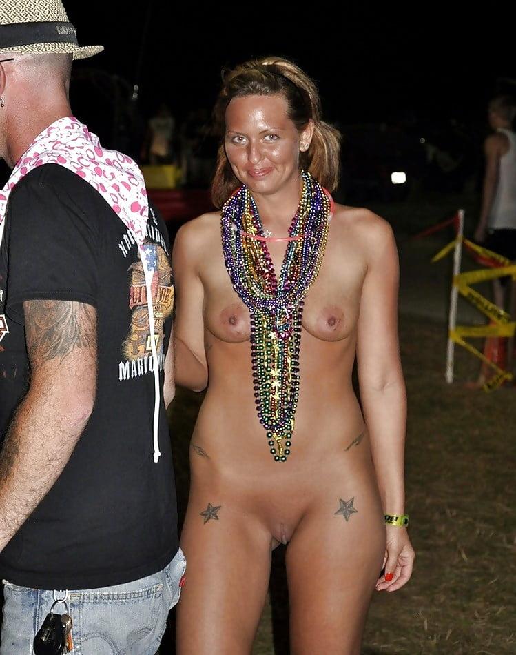 Nude females at fantasy fest 5