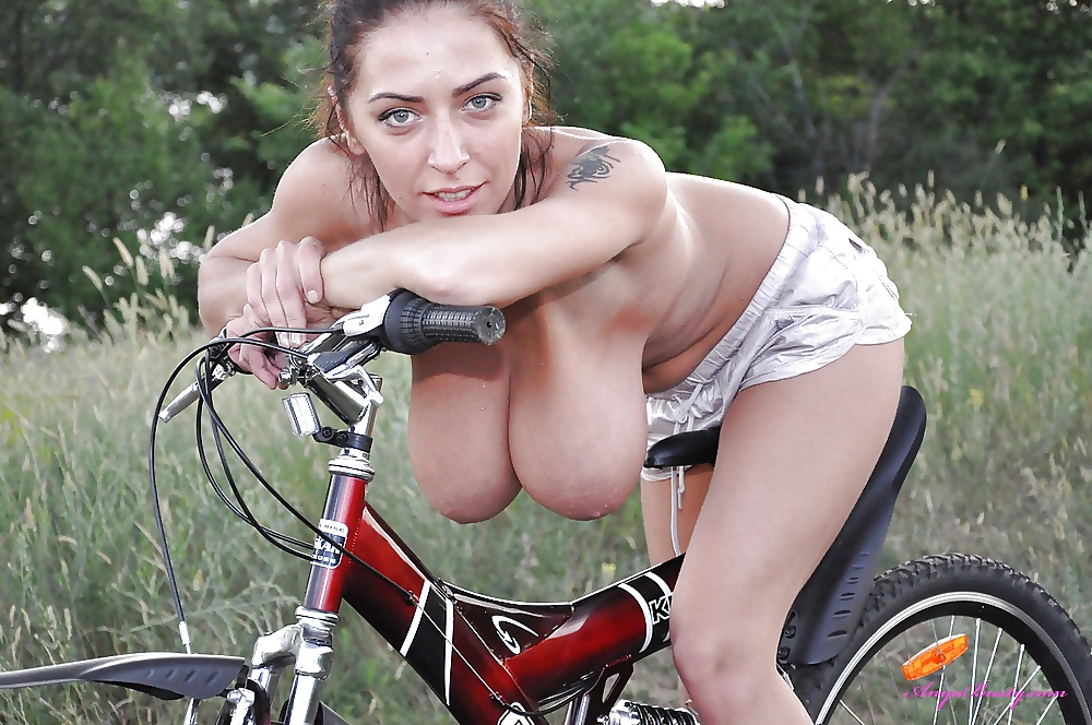 Busty mountain bike girls #4
