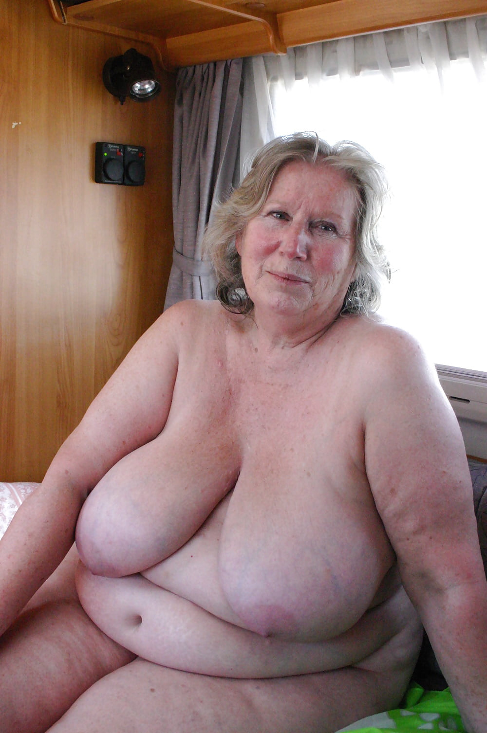 Thick Oma Lacey Starr Eats Cum