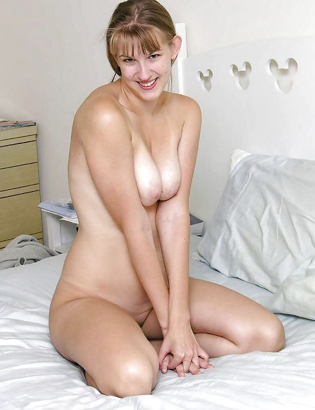 Nude wives in bed