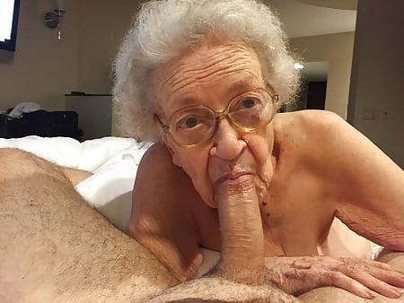 Old Granny Blowjob