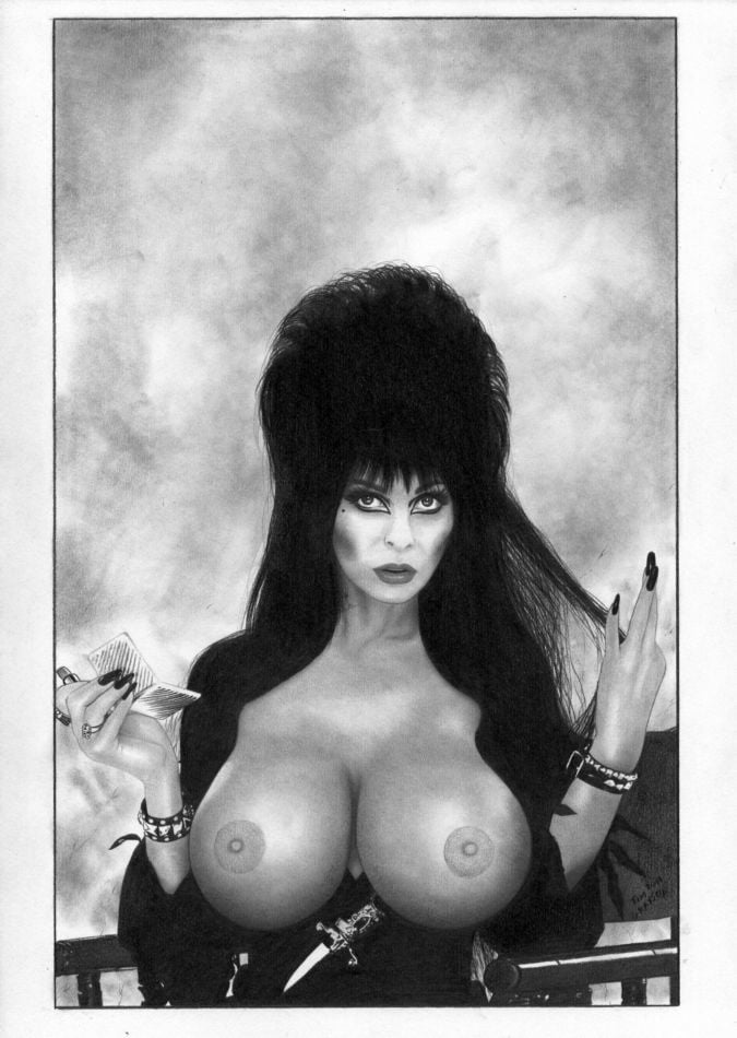 Elvira mistress of the dark nude pic — 6