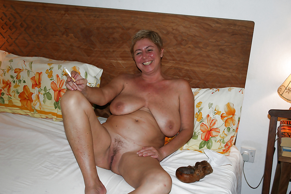 Nude old granny housewives — 8
