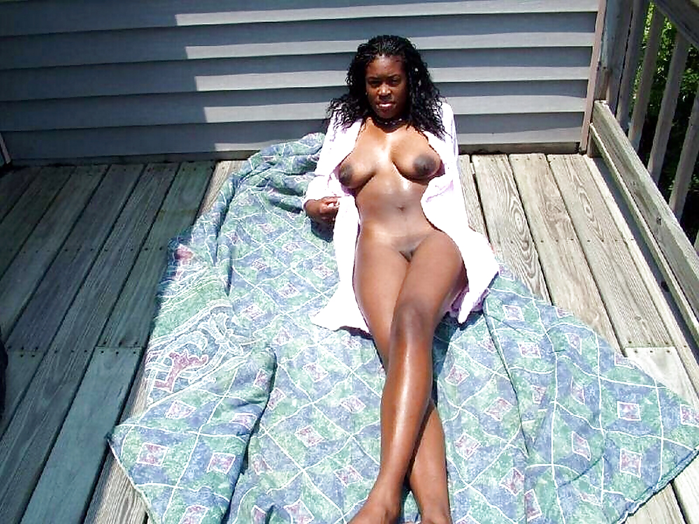 Embarrassed nude black amateurs